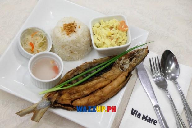 Breakfast Tinapang Bangus Via Mare at 40