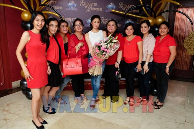 KATG-KimXian Around the Globe block screening of Etiquette for Mistresses