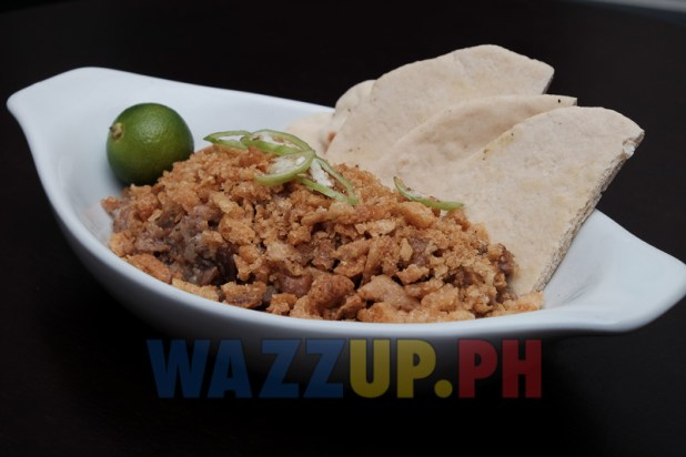 Pork Sisig with Pita Bread Reminisque Bistro Restaurant Bar Review-8138