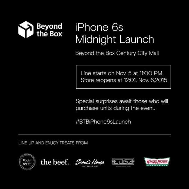 Beyond the Box iPhone 6s Line up