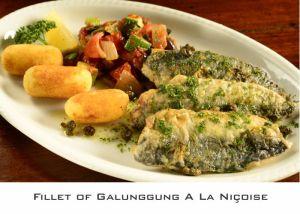 Fillet of Galunggung A La Niçoise (1)