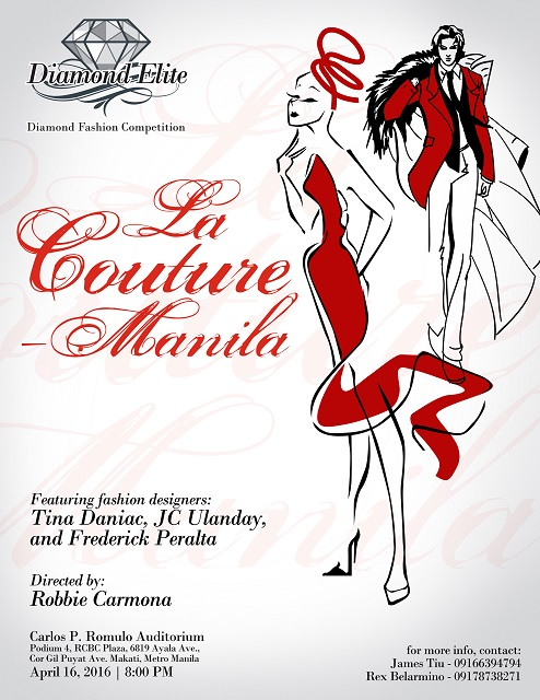 LA COUTURE MANILA Fashion competition