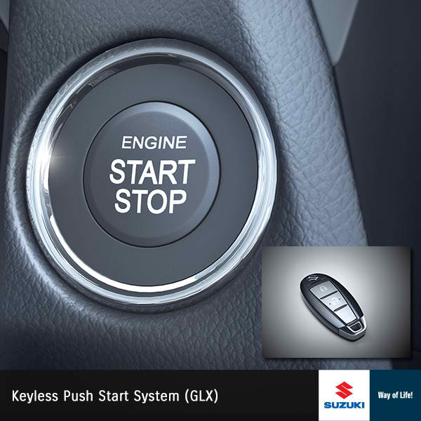 Suzuki Ciaz Keyless Entry Start Stop Push Button