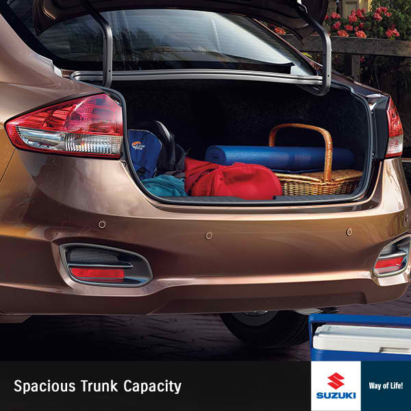 Suzuki Ciaz Trunks