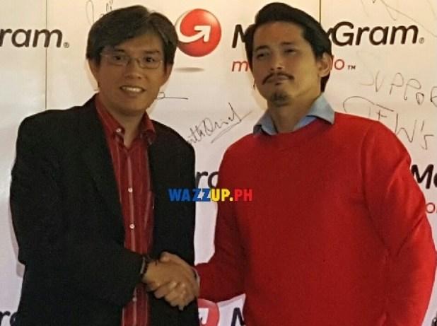robin padilla renews contract as Moneygram Global Brand Ambassador