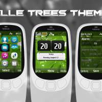 Trees belle theme for nokia 6303i classic