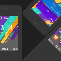 Colourful X theme X2-00 240x320 s406th s405th