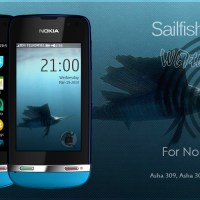 Sailfish Jolla 3 theme Nokia Asha 310 311 full touch