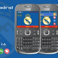Real Madrid C.F theme Asha 302 X2-01 s406th