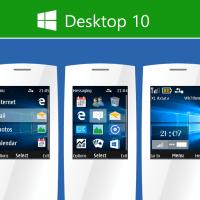 Desktop 10 theme X2-00 240x320 s40