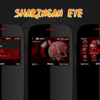 Sharingan eye theme Asha 302 320x240 s40