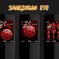 Sharingan eye theme X2-00 240x320 s406th s405th