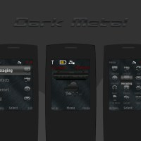 Dark brush metal theme X2-00 s40