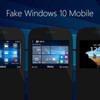 Fake windows 10 mobile theme C3-00 320x240 s40