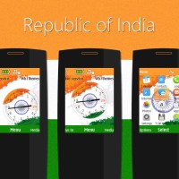 India Republic day theme s40 240x320 X2-00