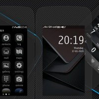 Titanium theme s40 240×400 Asha 311 305 full touch UI