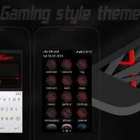 Gaming style theme Asha full touch 311 310 305 306