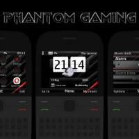 Phantom gaming swf live theme Asha 302 C3-00