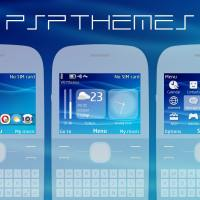 PlayStation Portable (PSP) swf wallpaper theme X2-01 C3-00 Asha 302 210 205