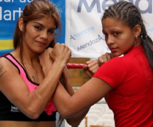 Yesica Marcos and Dayana Cordero are ready to look for the WBA Super Bantam title