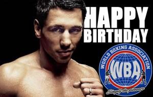 Happy Birthday Felix Sturm