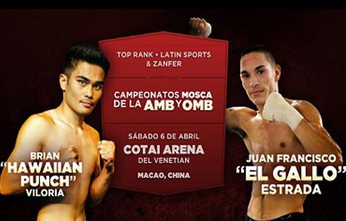 Two WBA judges will score the Viloria vs Estrada fight