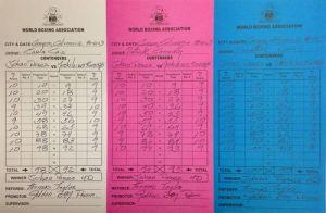 Johan Perez – Yoshihiro Kamegai Scorecards and Analysis
