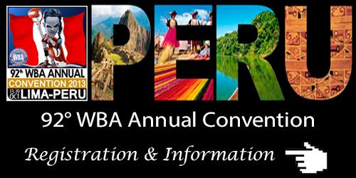 92° WBA Annual Convention - Invitation