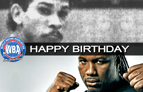 Happy birthday to former world champions Lennox Lewis and Antonio Esparragoza