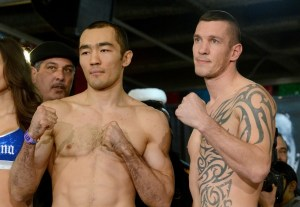 Photos/Weights: Beibut Shumenov vs Tamas Kovacs