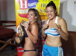 Mónica Acosta will defend her WBA belt in Argentina