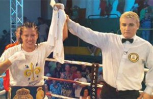 Ana Esteche WBA super lightweight champion