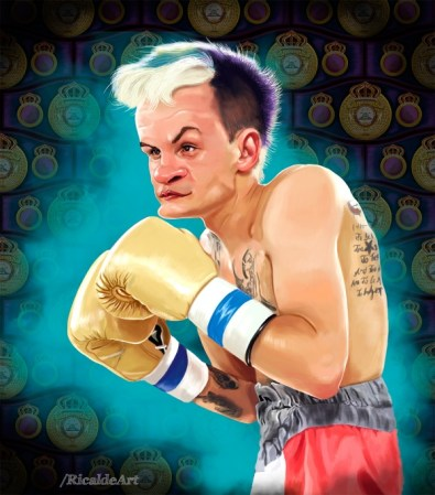 Hekkie Budler WBA Boxer of the Month