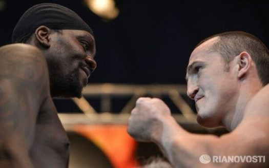 Lebedev and Jones made the weight for their second battle