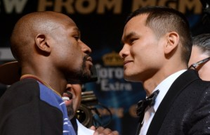 Photos: Floyd Mayweather vs. Marcos Maidana Final Press Conference