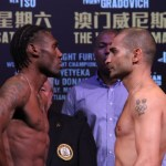 Walters - Darchinyan Weigh-in Photos