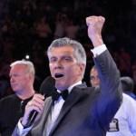 Gennady Golovkin vs Daniel Geale - Ring Announcer Michael Buffer