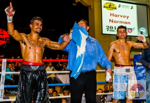 Photos: Cameron Hammond vs Alfredo Blanco WBA Oceania