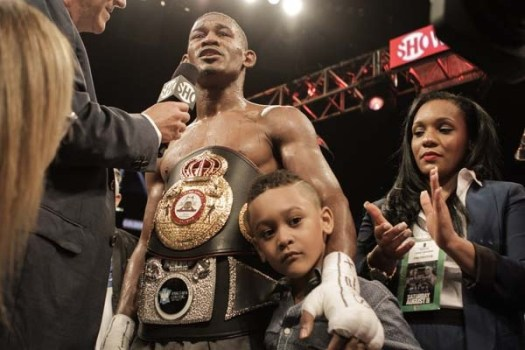 Daniel Jacobs is the WBA boxer of the month