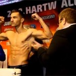 Abril - Tatli weigh-in