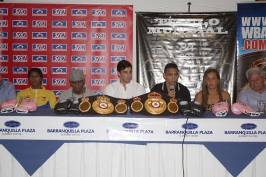 Photos: WBA KO Drugs in Barranquilla is hot