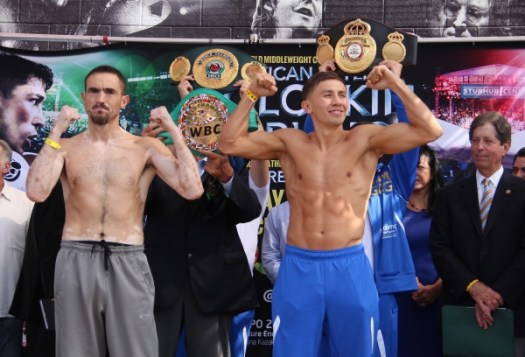 Golovkin makes weight, Rubio heavy; Donaire and Walters both make weight
