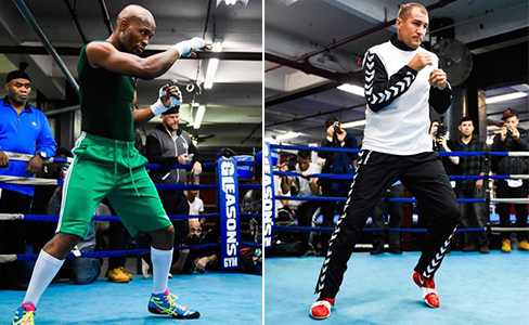 Photos: Bernard Hopkins-Sergey Kovalev workout at Gleason's Gym