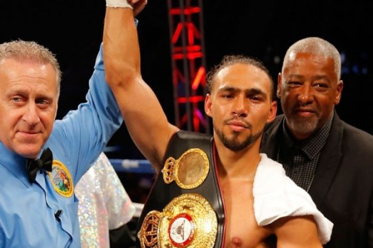 Officials for the WBA Interim title fight this Saturday in Las Vegas