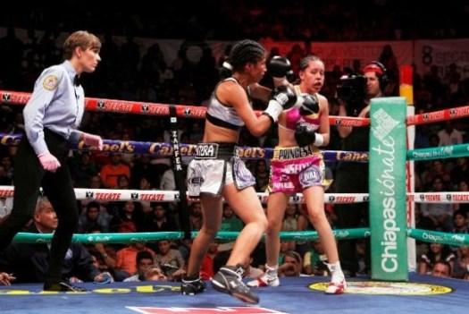 Joselyn Arroyo, new WBA interim champion