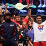 Mayweather - Pacquiao weigh-in