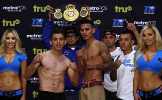 Benavidez, Paez jr. make weight