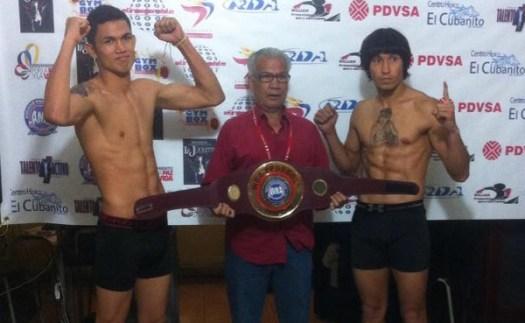 Frank Rojas/Arvey Montes Weigh-In