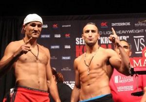 Kovalev, Mohammadi make weight