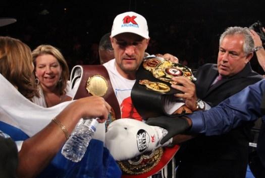 Sergey Kovalev WBA Light Heavyweight Undisputed Champion